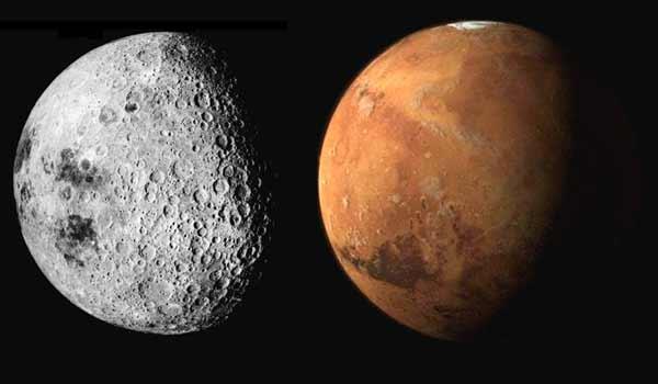 Extraterrestres construcciones en la luna y marte ??